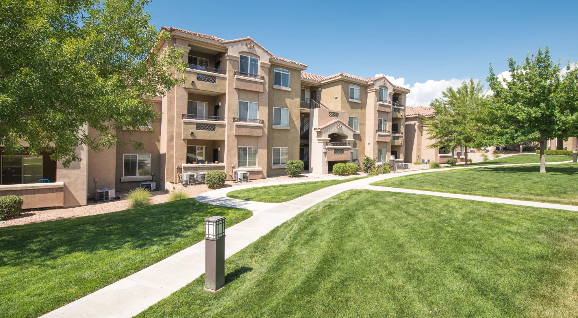 Pet-friendly apartments at Broadstone Towne Center in Albuquerque, New Mexico