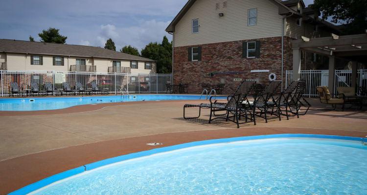 luxury amenities at Village Green
