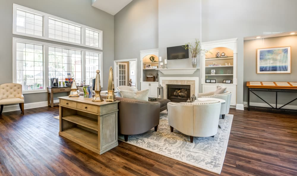 Spacious living room in Raleigh, NC