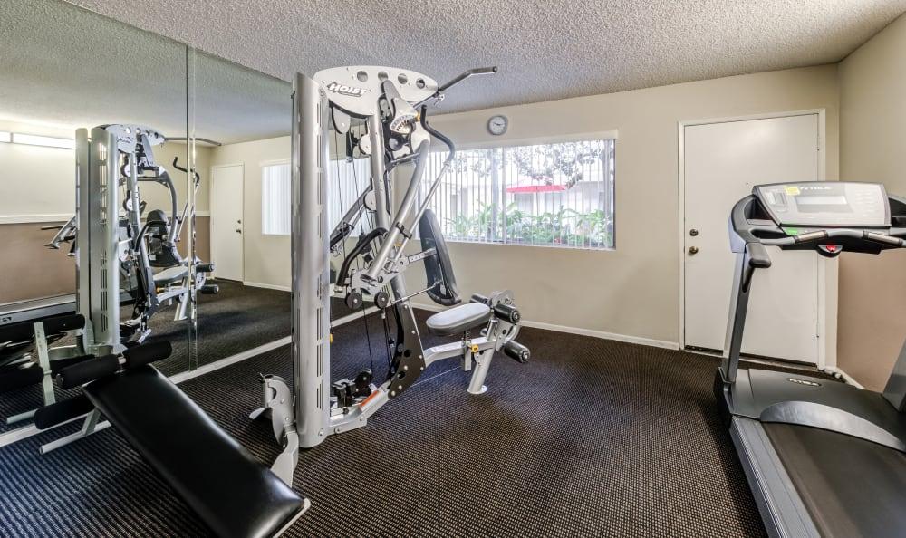 The Parkview fitness center