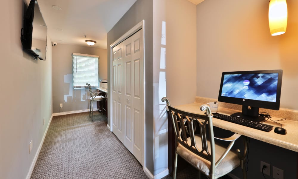 Cedar Gardens and Towers Apartments & Townhomes offers a spacious office in Windsor Mill, MD