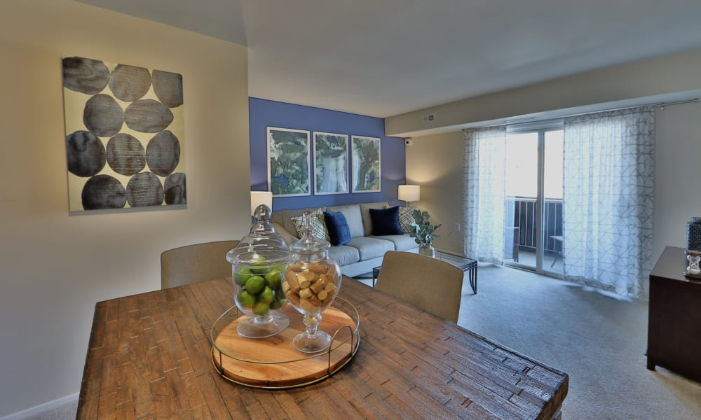 Enjoy Apartments with a Dining Room at The Willows Apartment Homes