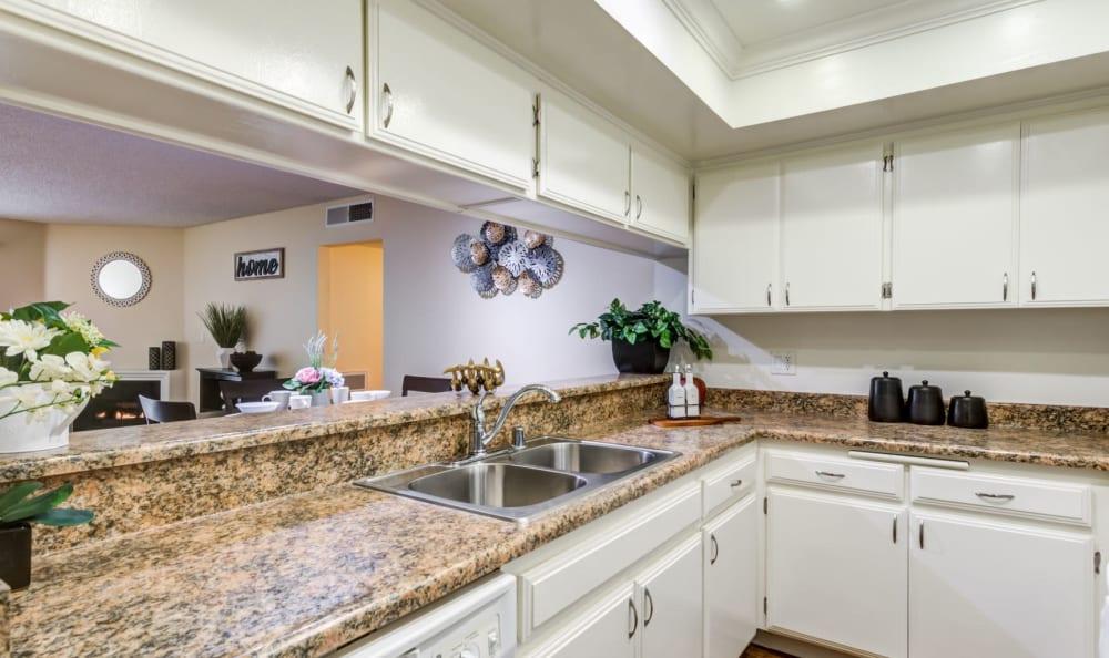 Kitchen at The Ritz in Studio City, California