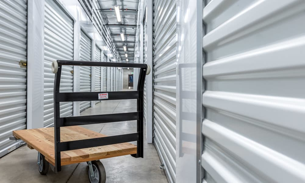 Dolly to make moving your heavy items easier at Raceway Heated Storage - Covington in Covington, Washington
