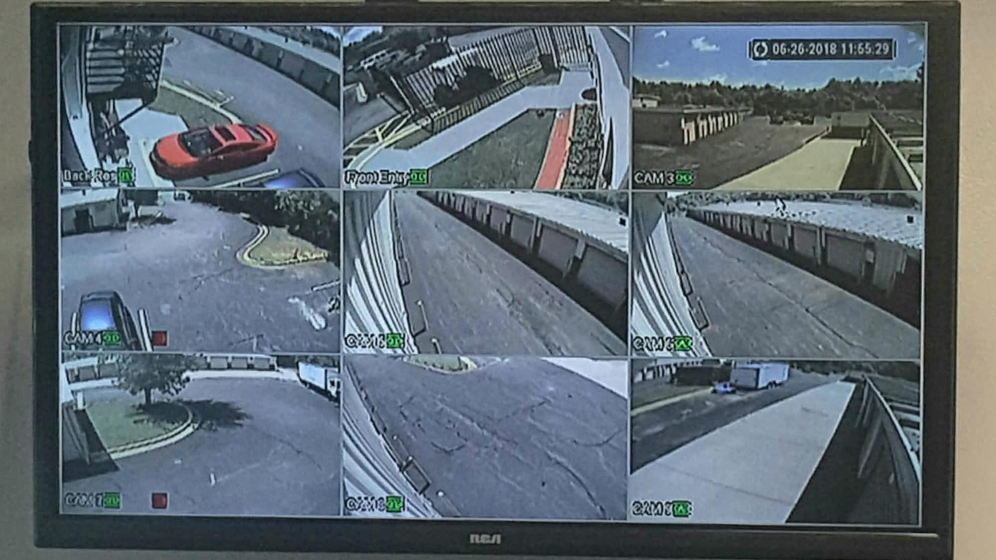 Security monitor at Seabrook Self Storage in Seabrook, Maryland