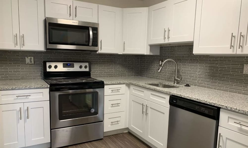 Renovated kitchen at The Preserve at Milltown in Downingtown, PA