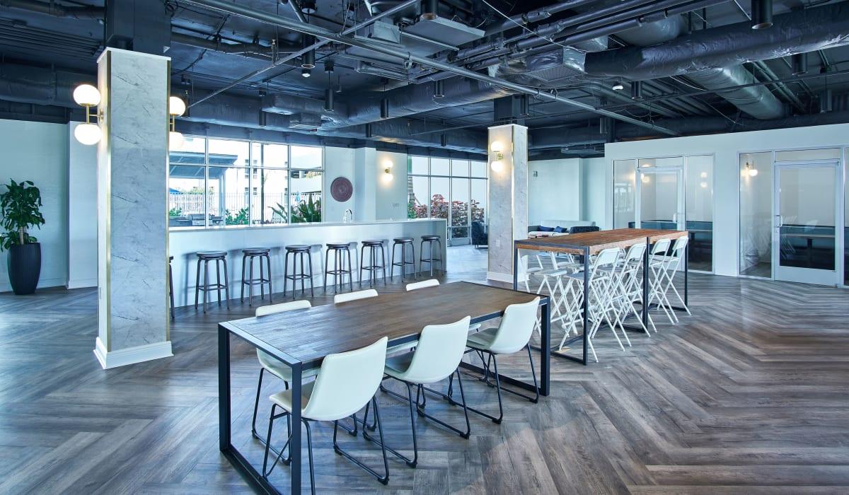 The Wayland community indoor space in St Petersburg, Florida