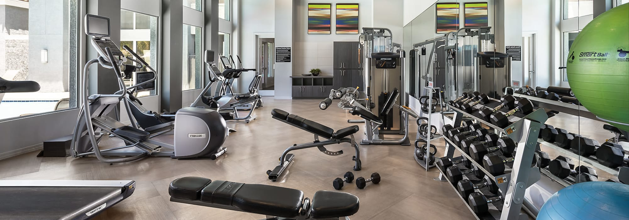 Fitness Center at Avenue 25 Apartments