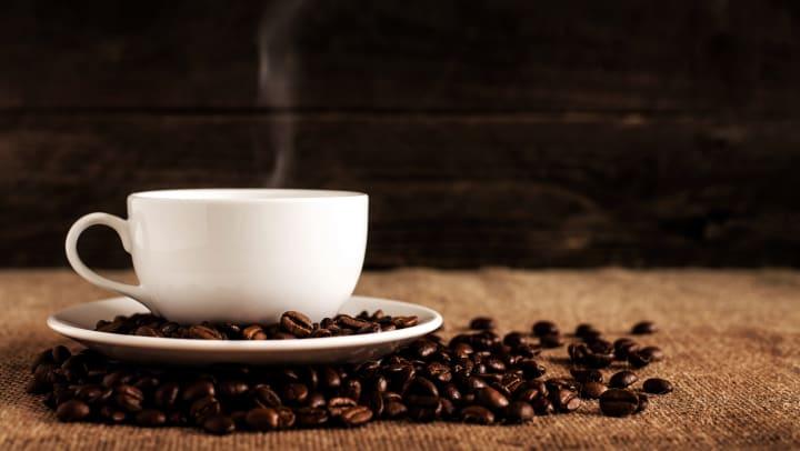 A fresh latte at a local coffee shop near Olympus Team Ranch in Benbrook, Texas.