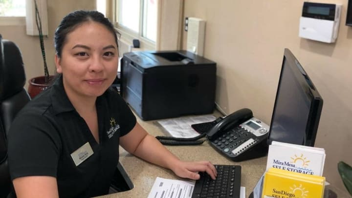 Monica Vang: Storage Consultant at Mira Mesa Self Storage