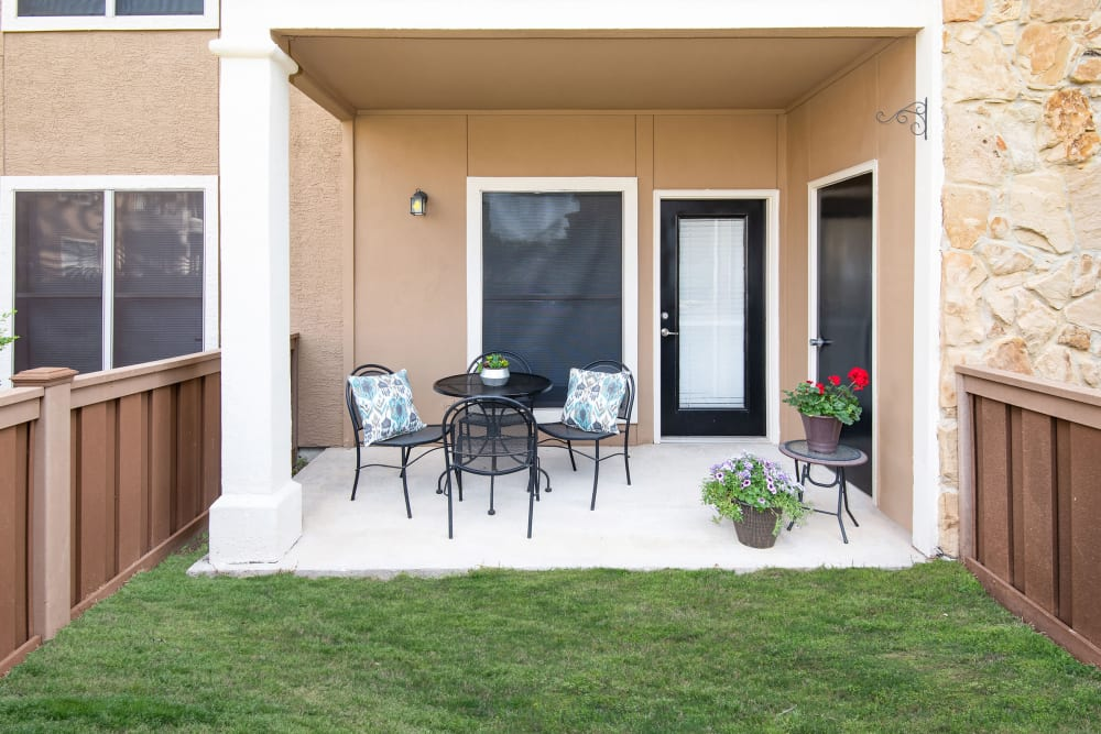 Apartments with a Private Patio in McKinney, Texas