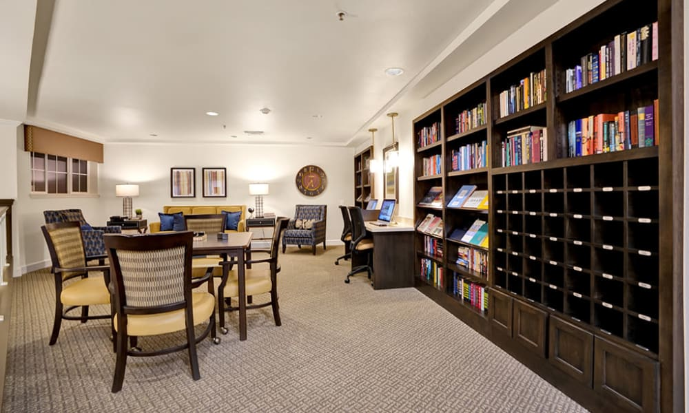 library at The Commons at Dallas Ranch
