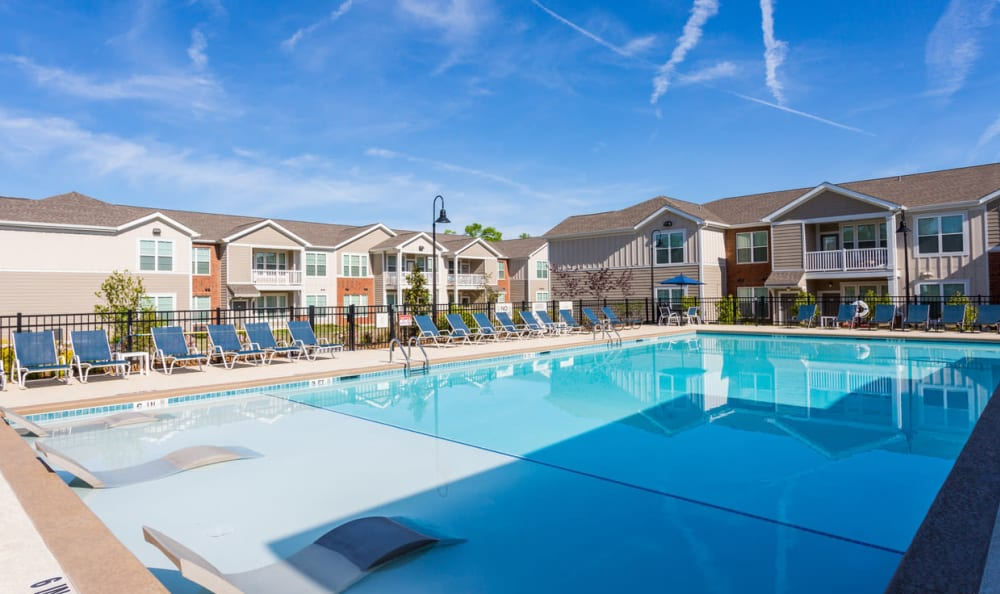 Resort style pool at Springs at McDonough in McDonough, GA