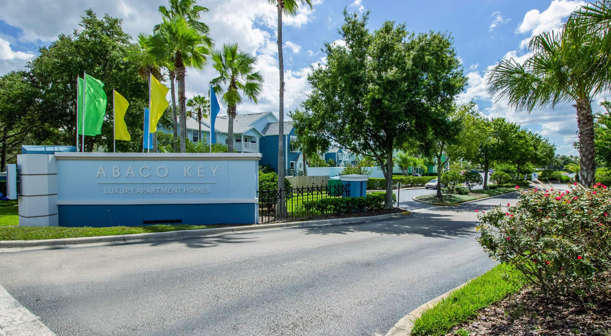 Contact us at Abaco Key in Orlando, Florida