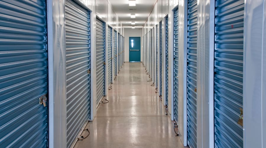 Temperature controlled units at KO Storage of Fort Drum in Evans Mills, New York