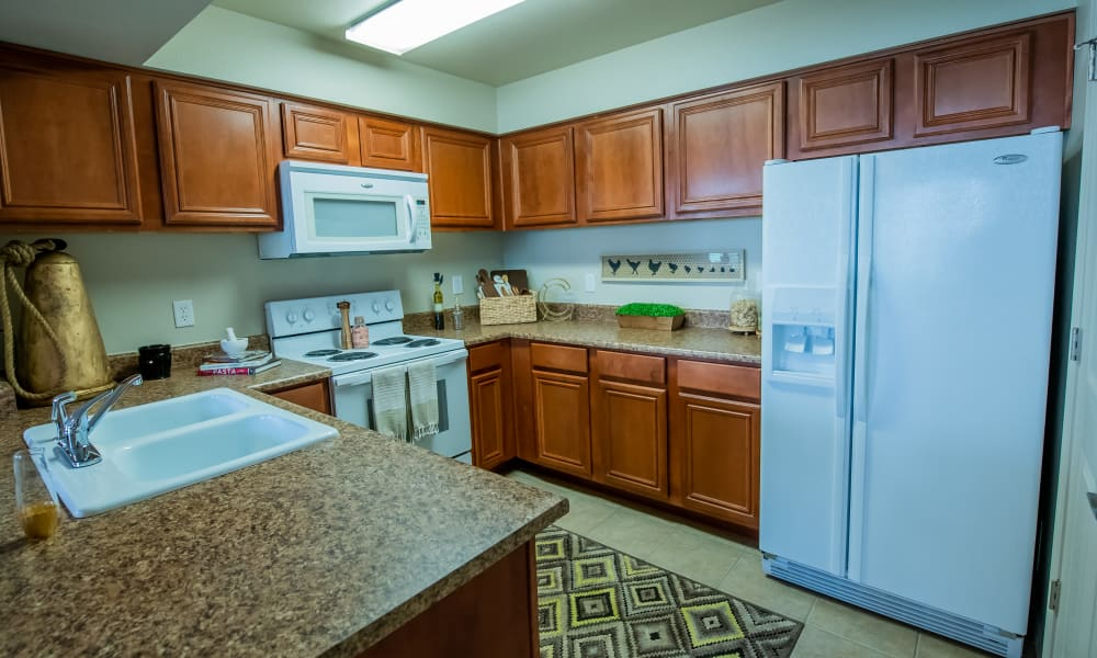 Bright kitchen at Colonies at Hillside in Amarillo, Texas