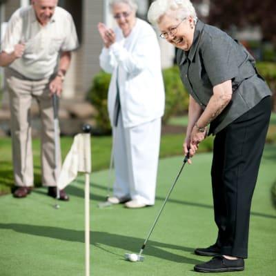 Lifestyle and leisure at Milestone Retirement Communities