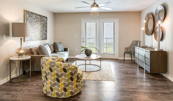 A beautiful, open floor plan at The Retreat at Sherwood in Sherwood, Arkansas