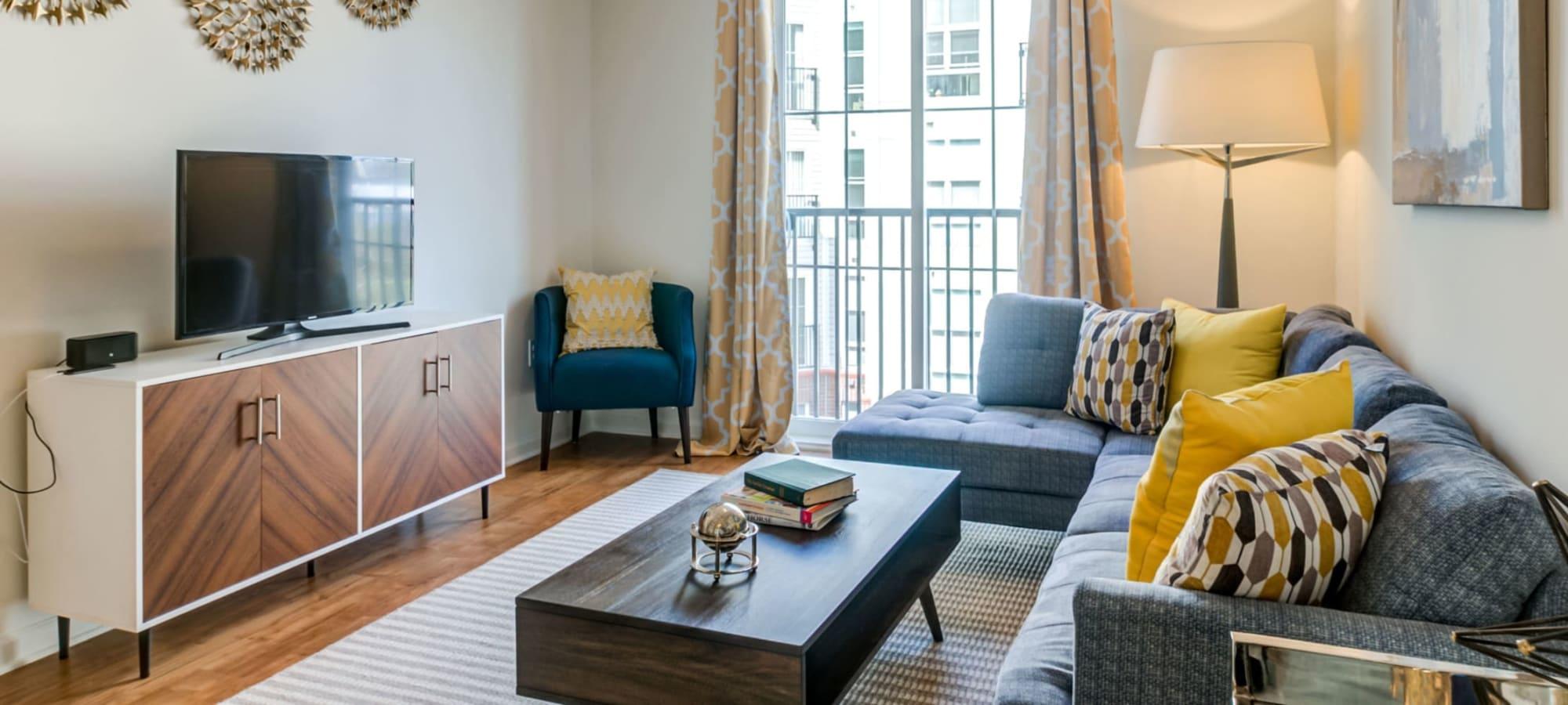 Apartments at The Royal Athena in Bala Cynwyd, Pennsylvania