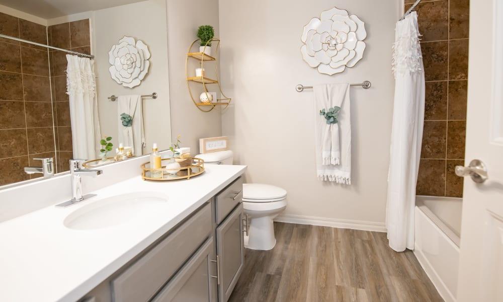 Bathroom at Cross Timber in Oklahoma City, Oklahoma