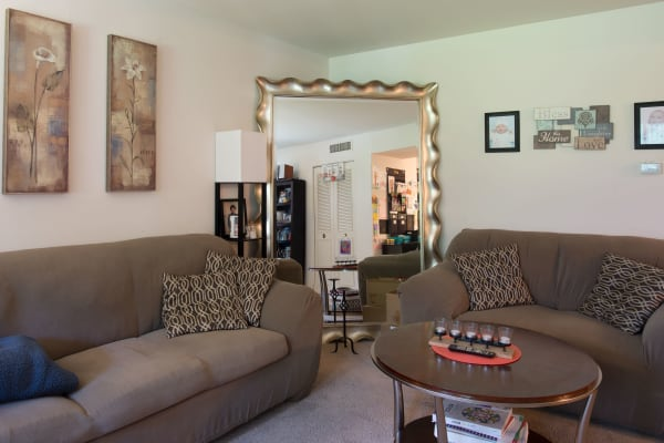 Living Room of Mill Creek Apartments in East Greenbush
