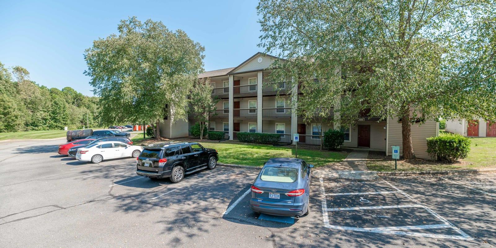 Exterior at Kannan Station Apartment Homes in Kannapolis, North Carolina