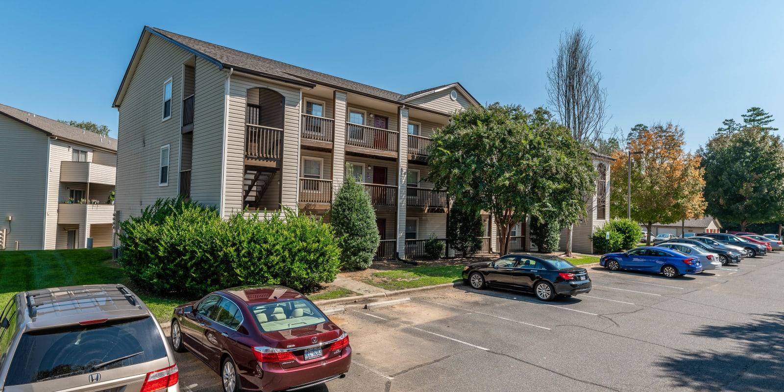 Side Exterior at Kannan Station Apartment Homes in Kannapolis, North Carolina