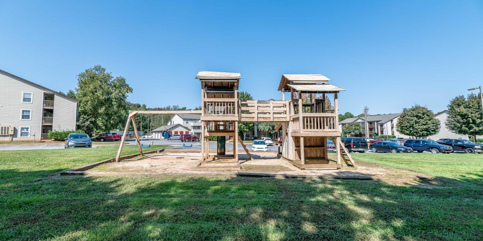 Playground at Kannan Station Apartment Homes in Kannapolis, North Carolina