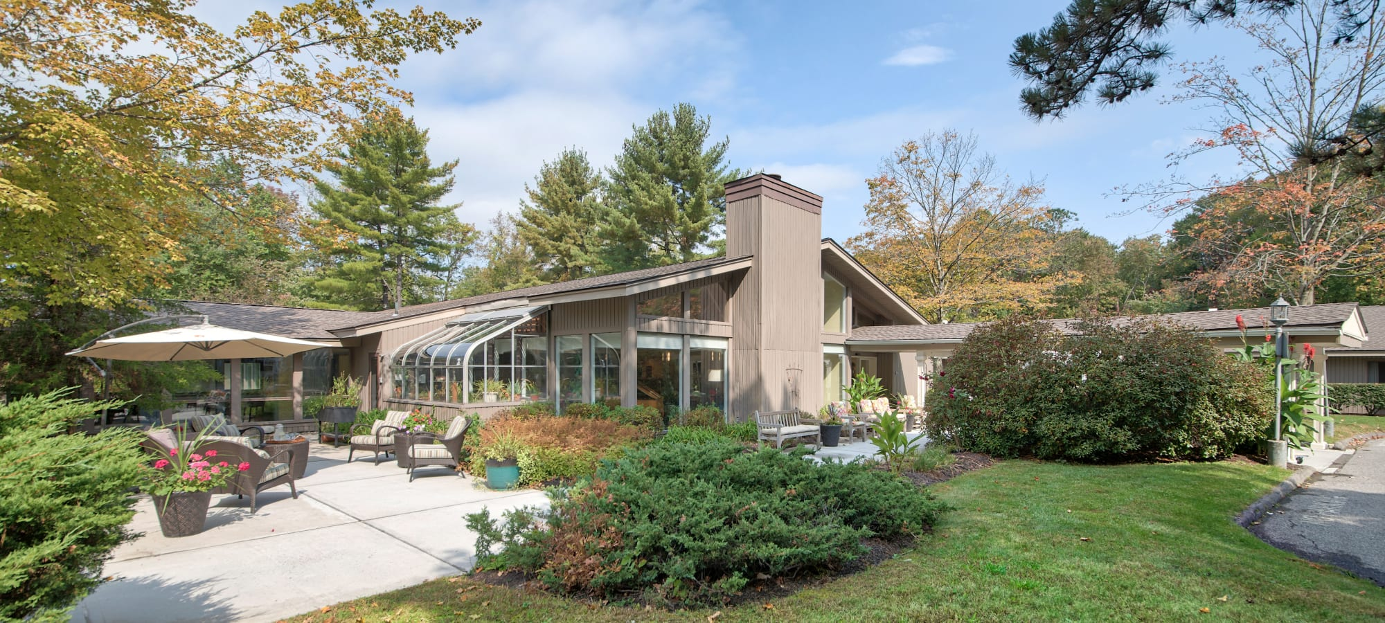 Exterior building image of The Country House in Westchester in Yorktown Heights, New York