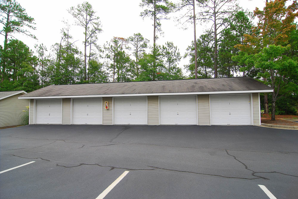 Detached Garages at Huntington Place Apartments in Columbia, SC