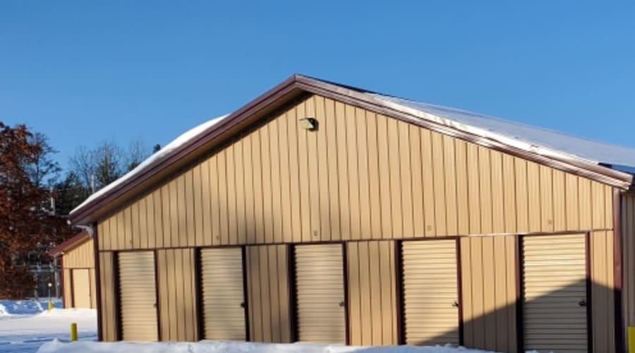External storage units at KO Storage of Nisswa in Nisswa, Minnesota