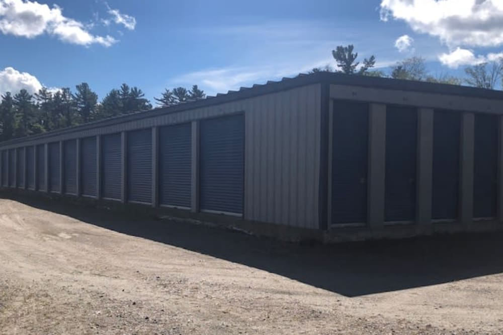 Drive-up units at Apple Self Storage - Port Carling in Port Carling, Ontario
