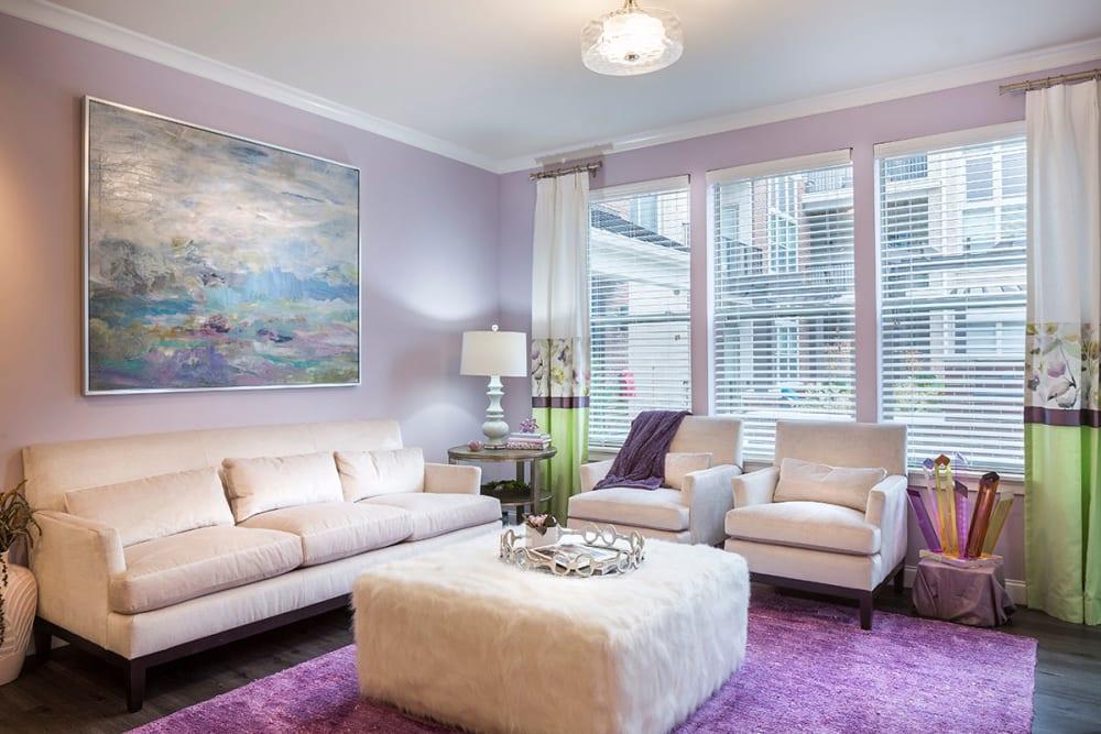 Enjoy Apartments with a Living Room at Rialto Hurstbourne