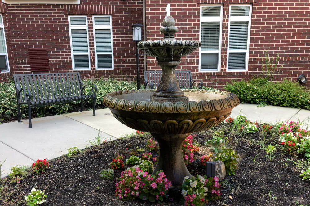 Courtyard at Harmony at Spring Hill in Lorton, Virginia