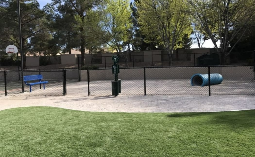 Onsite bark park at Solis at Flamingo in Las Vegas, Nevada