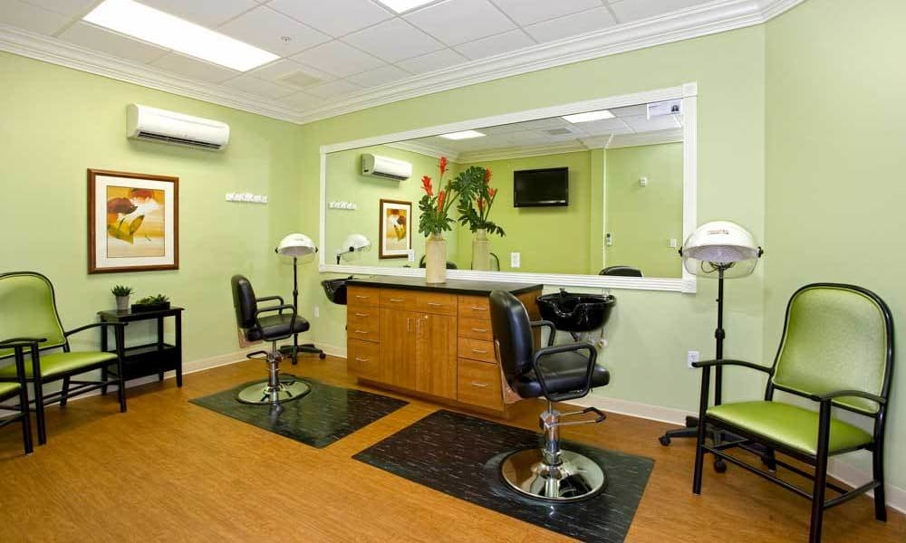 Beauty salon at Arbor Oaks at Lakeland Hills