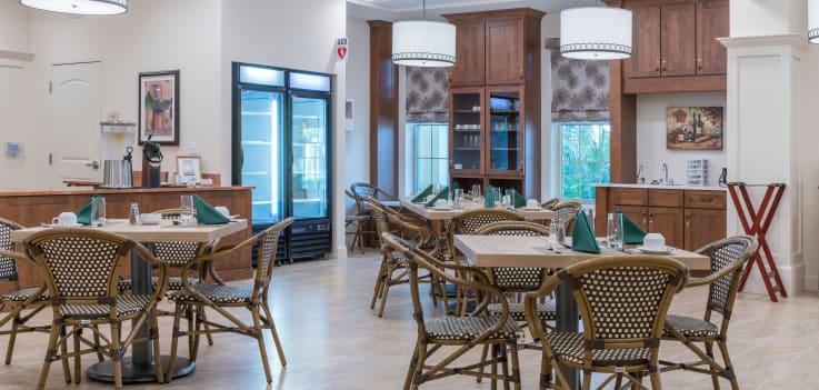 Dining room at Merrill Gardens at ChampionsGate