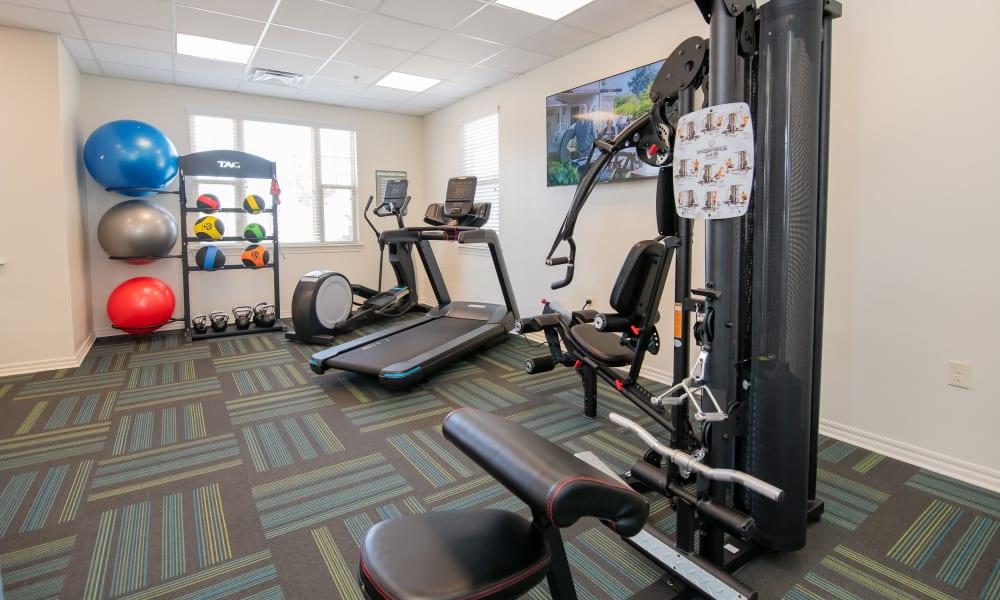 Fitness Center at Cross Timber in Oklahoma City, Oklahoma