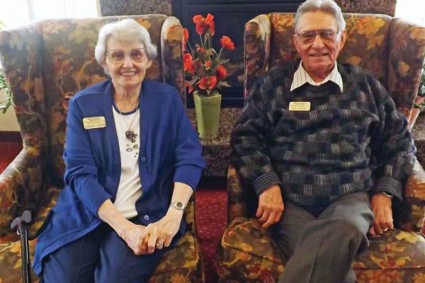 Don and Darlene Sheriff at Meadowlark Estates Gracious Retirement Living in Lawrence, Kansas