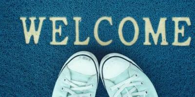 Welcome packet at The Terrace in Tarzana, California