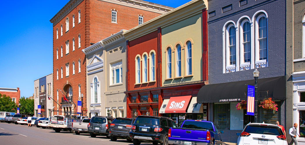 Downtown Murfreesboro, TN near Parkview Flats