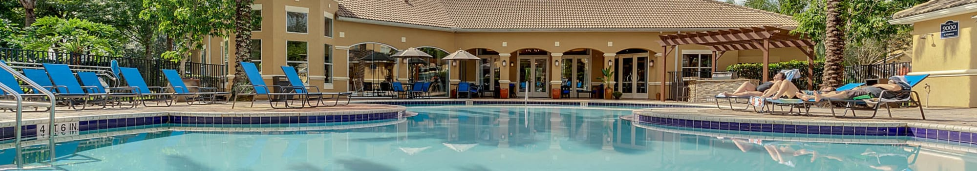 Floor plans at Palms at World Gateway in Orlando, Florida