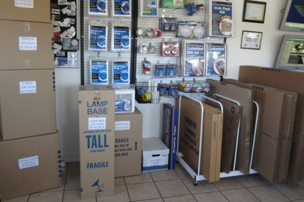 Packing supplies available at Acorn Self Storage - Pittsburg in Pittsburg, California