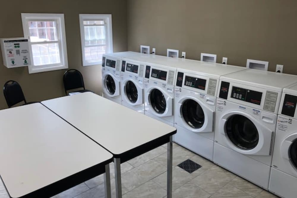 New Washers and Dryers at Brookchester Apartments