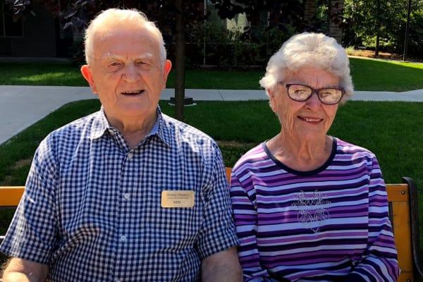 Ken and Vicki Lewis at Heritage Meadows Gracious Retirement Living in Cambridge, Ontario