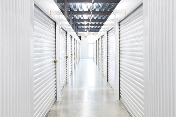 Indoor Climate-controlled units at Spacebox Storage Nashville in Nashville, Tennessee.