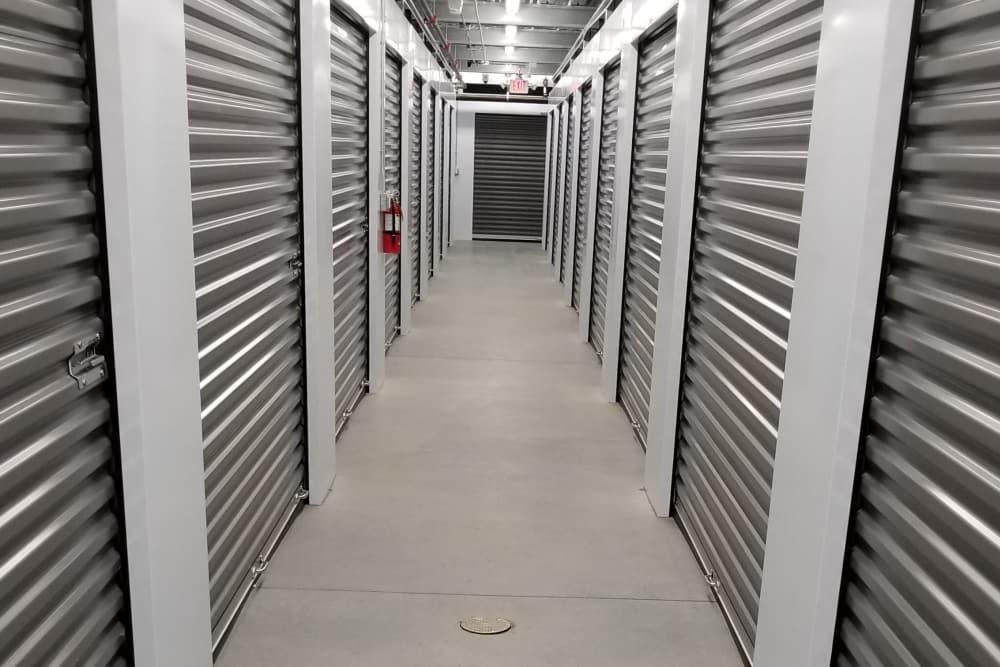 Interior Storage Unit at AAA Self Storage at N Elm