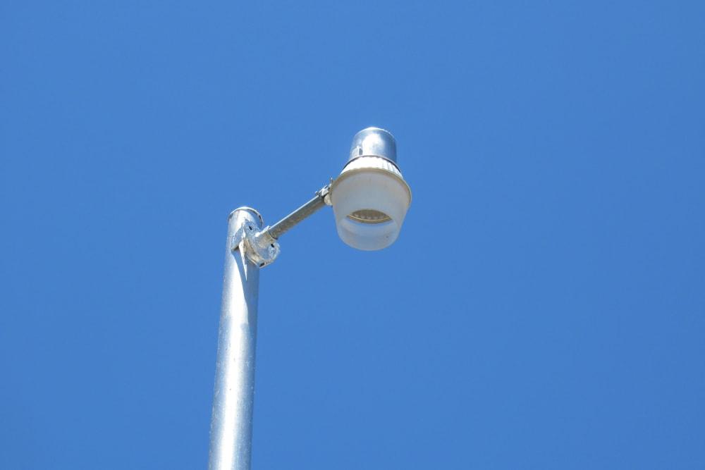 Street light at Springtown Self Storage
