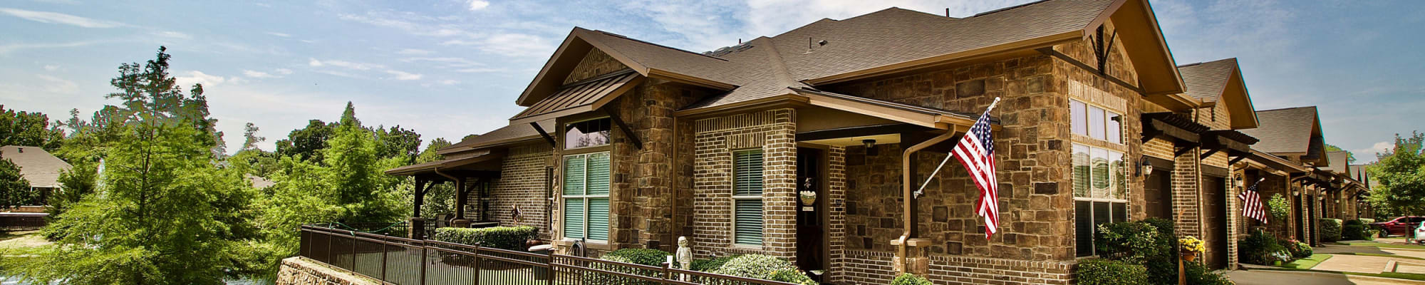 Independent living at Watercrest at Mansfield in Mansfield, Texas