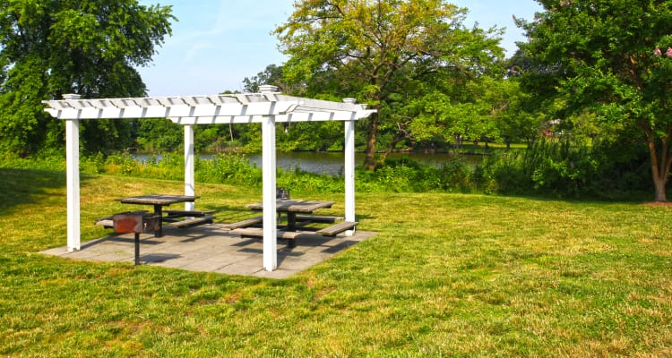Enjoy our gardens at Harbor Point Estates in Essex, MD